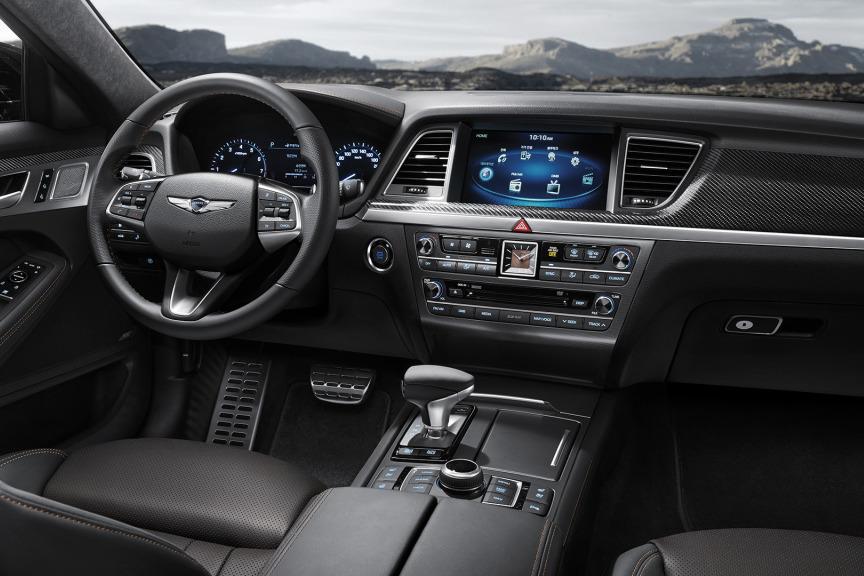 Рассекречены технические данные премиум седана Genesis G80 дляРФ