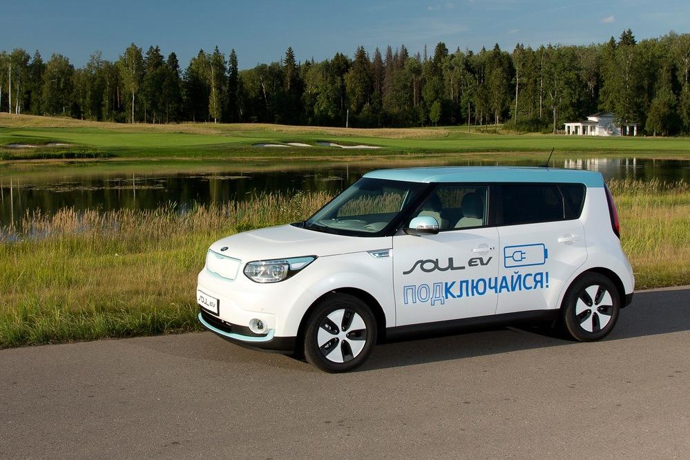 Тест-драйв электромобиля Kia Soul EV