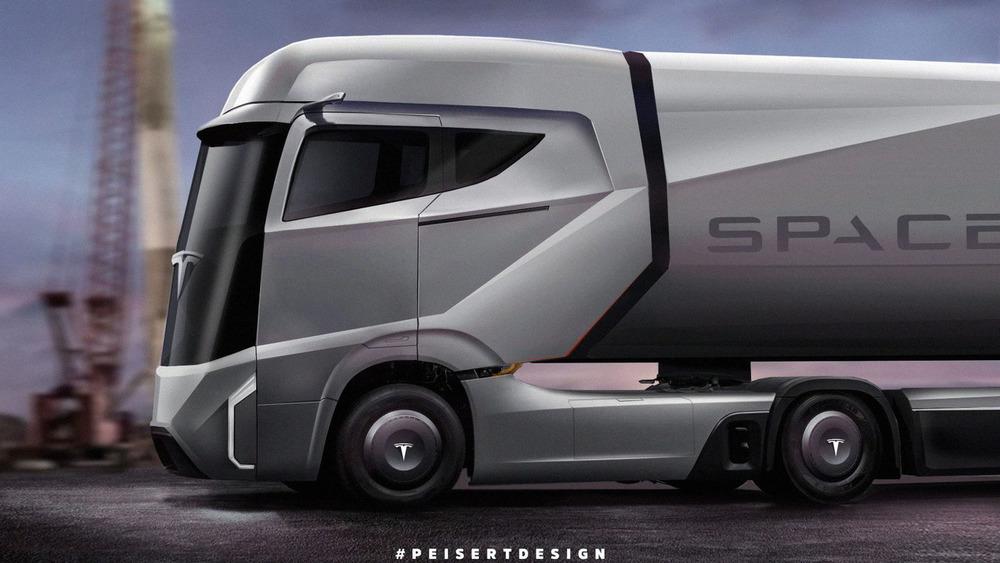 Маск сообщил, когда Tesla представит первый грузовик