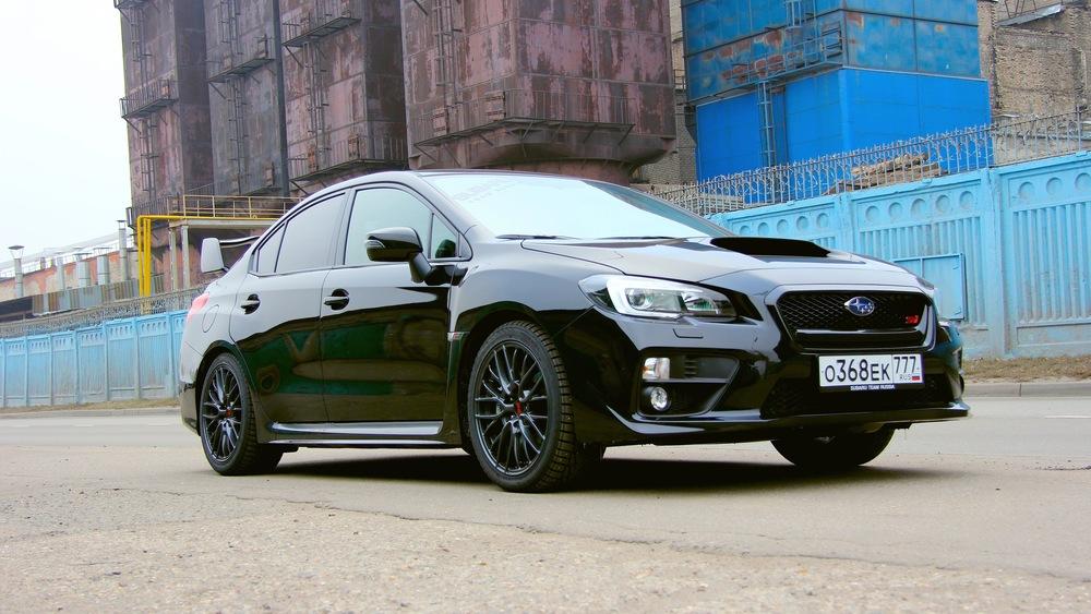 Тест-драйв Subaru WRX STi