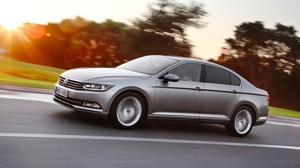 В РФ открыт прием заказов надизельный VW Passat