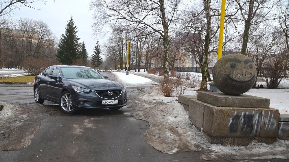 Тест -драйв Mazda6