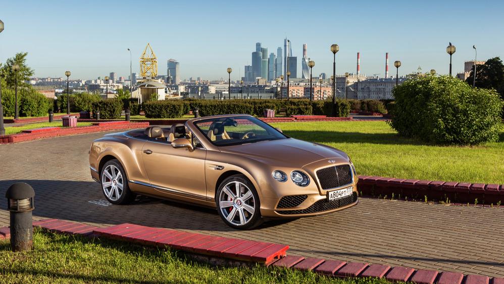 Тест-драйв Bentley Continental GTC V8S от Am.ru