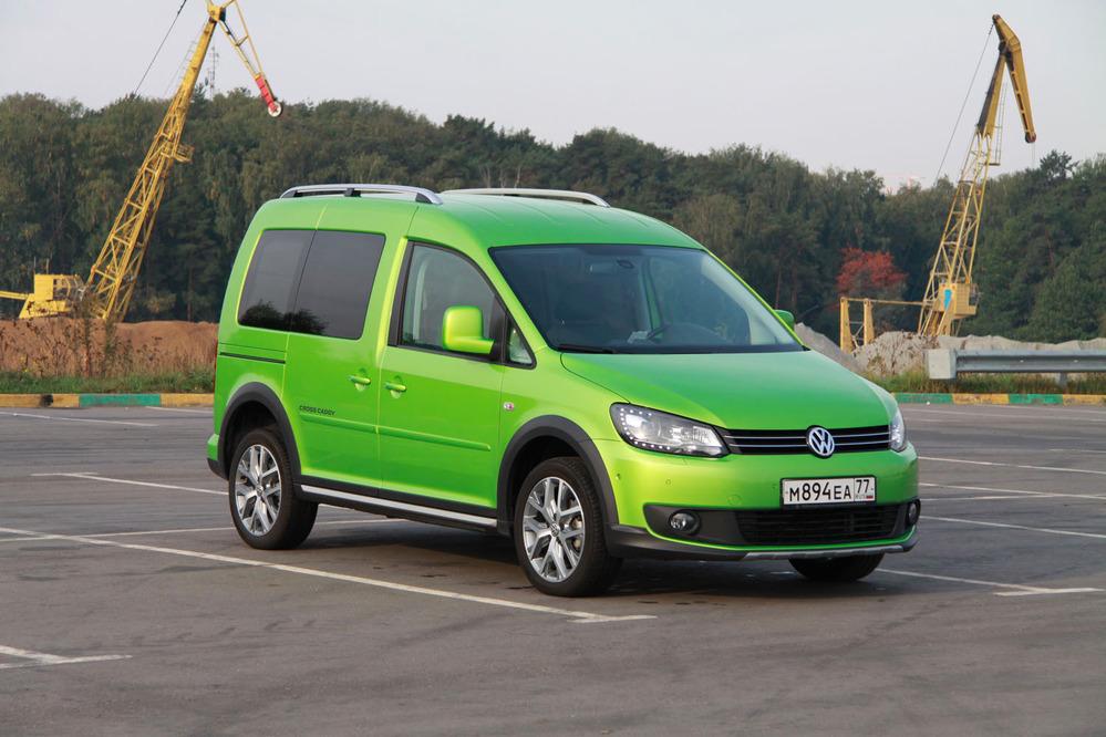 Тест-драйвVolkswagen Caddy Cross