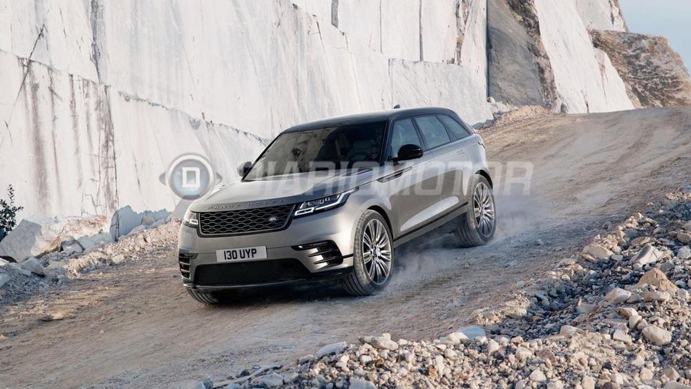 Дизайн Range Rover Velar раскрыт