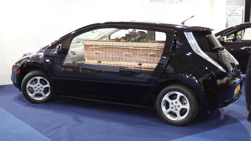 Британцы нашли новое применение электромобилю Nissan Leaf.