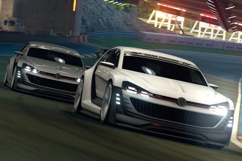 Volkswagen показал концепт Golf GTI Supersport Vision для игры Gran Turismo. Новости от am.ru