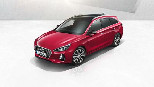Фотогалерея нового Hyundai i30 Tourer.
