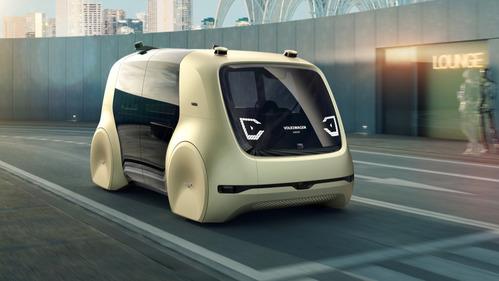 Volkswagen показал первенца автономных машин будущего - Sedric.