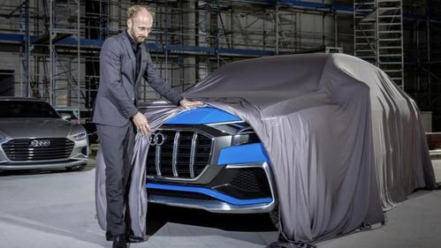 Главный дизайнер Audi показал новый Q8.