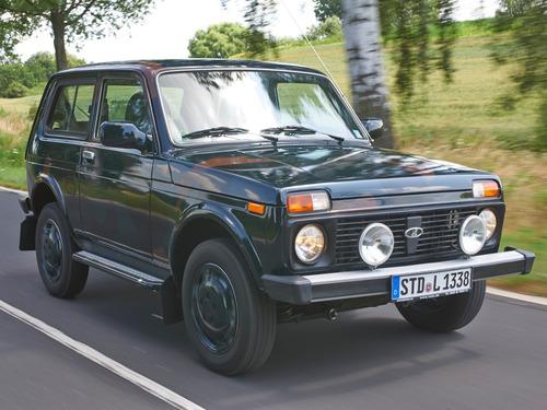Lada 4x4 призана самой медленной в Германии.