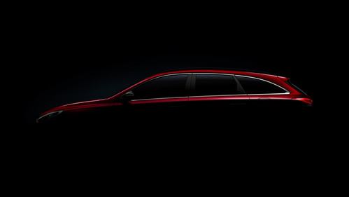 Опубликован первый тизер универсала Hyundai i30 Wagon.