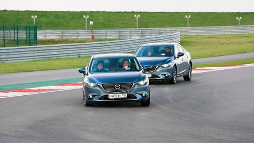 Какова технология G-Vectoring в действии. Мы проверили на обновлённых Mazda3 и  Mazda6.