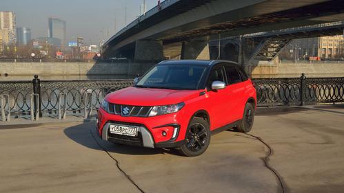 Тест-драйв Suzuki Vitara S – читать и смотреть фото на Am.ru