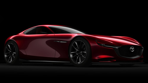 Официальные фотографии Mazda RX-Vision Concept - смотреть фото на Am.ru.