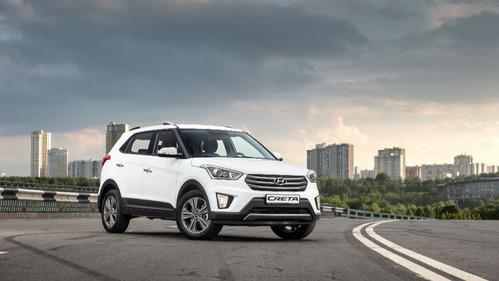 Первые официальные фотографии нового кроссовера  Hyundai Creta.