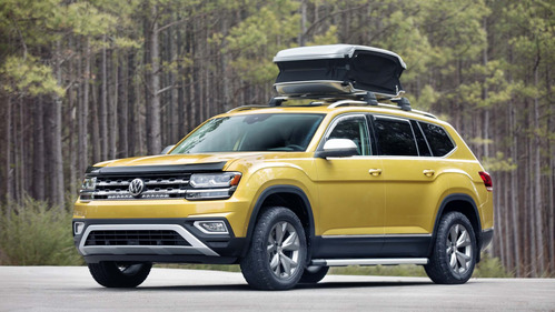 Volkswagen представил Atlas Weekend Edition.Новости Am.ru