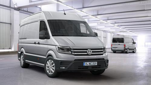 Volkswagen назвал российские цены на фургоны Crafter.Новости Am.ru