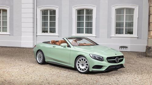 Галерея милейшего кабриолета Mercedes S-Class от Carlsson.