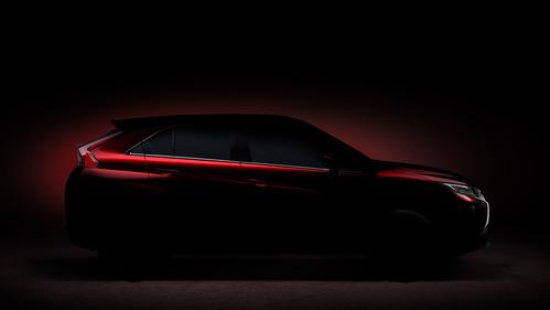 Первое изображение нового кроссовера Mitsubishi.Новости Am.ru