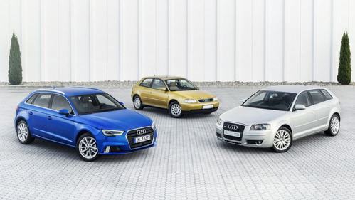 В этом году Audi отмечает 20 лет модели A3.