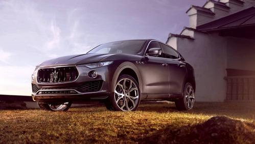 Maserati Levante доработали в тюнинг-ателье Novitec Rosso.Новости Am.ru