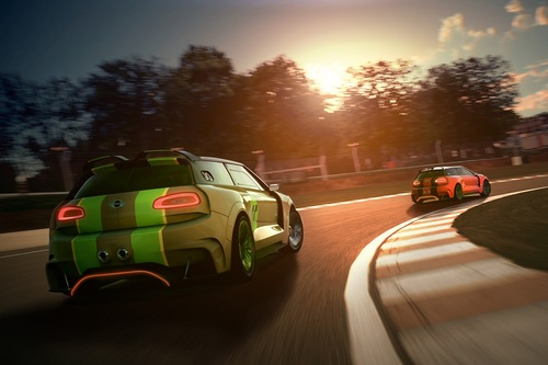 MINI показала заряженный Clubman для Gran Turismo 6. Новости от am.ru