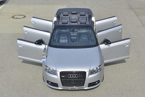 восьмиместный кабриолет Audi