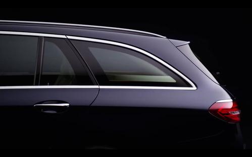 Первый официальный видеотизер нового универсала Mercedes E-класса.