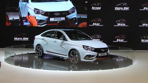 Фотографии Lada Vesta Sport и Lada XRAY Sport – смотреть фото на Am.ru