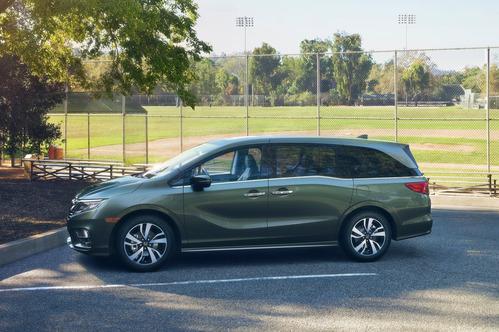 Новое поколение Honda Odyssey дебютировало в Детройте.Новости Am.ru