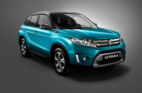 Suzuki покажет серийную версию Vitara