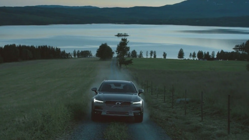 Умиляющее видео о предназначении нового Volvo V90 Cross Country.