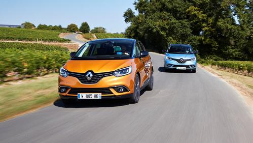 Фотогалерея нового Renault Scenic и Grand Scenic.