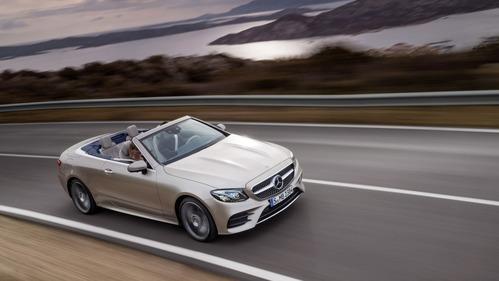Mercedes-Benz  рассказал каким будет новый кабриолет Е-класса.