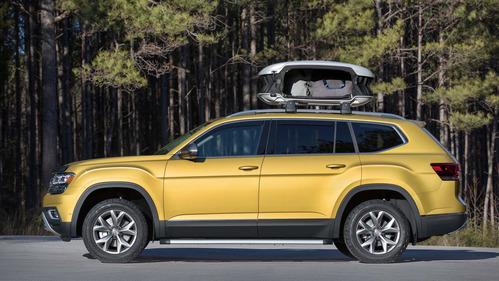 Официальные фотографии VW Atlas Weekend Edition - смотреть фото на Am.ru.