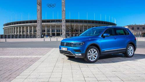 Фотогалерея нового Volkswagen Tiguan.
