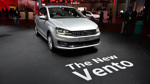 Седан Volkswagen Polo получил светодиодные фары головного света.Новости Am.ru