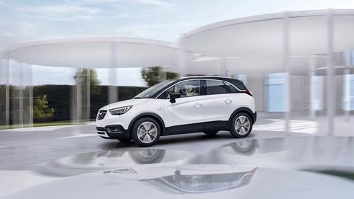 Раскрыты детали нового кроссовера Opel Crossland X.