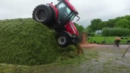 Сможет ли трактор? И выживет ли тракторист?
