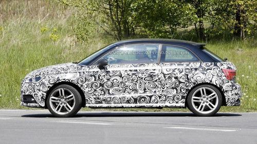На дорогах замечен обновлённый Audi A1