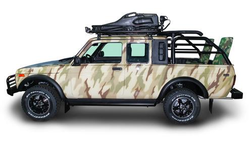 Lada 4x4 подготовили для охотников.