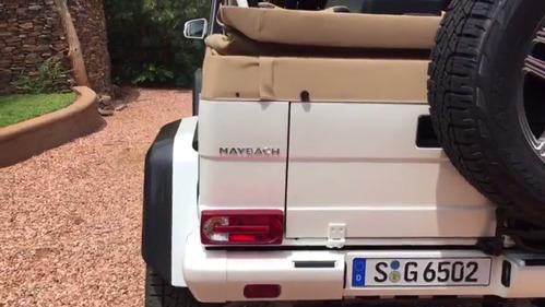 Невероятный Mercedes-Maybach G 650 Landaulet со всех сторон - хорош откуда на него не посмотри!