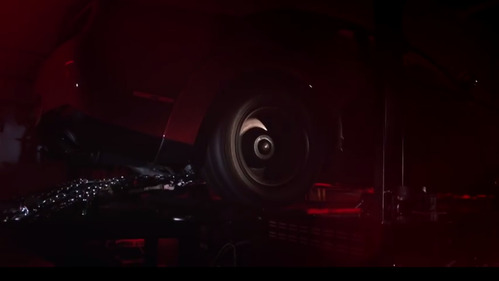 Challenger SRT Demon раскрыл характеристики на диностенде.