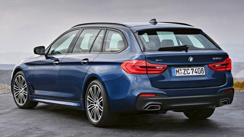 Официальные фотографии нового поколения универсала BMW 5-Series Touring - смотреть фото на Am.ru.