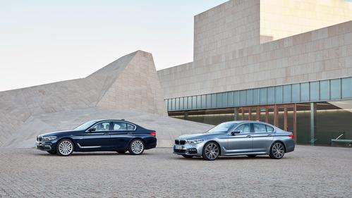 Все официальные фото новой BMW 5 серии.