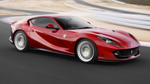 Фотогалерея Ferrari 812 Superfast.