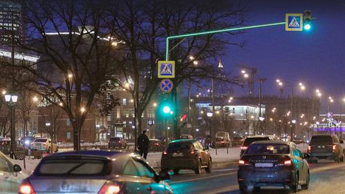 Пешеходов дополнительно подсветят.