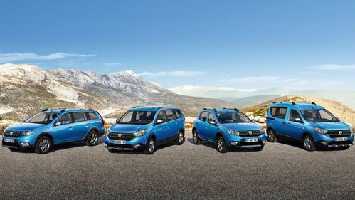 Фотогалерея нового Dacia Logan MCV Stepway.