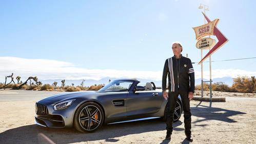 Реклама Mercedes-AMG GT с Питером Фондой – смотреть видео на Am.ru